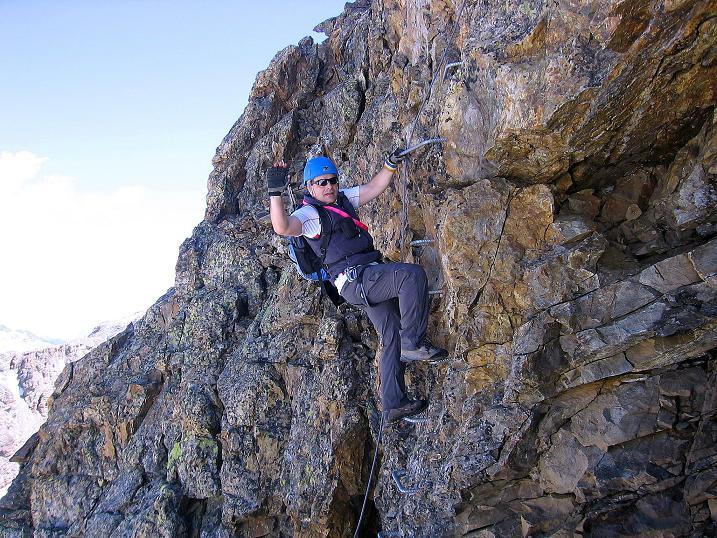 Foto: Andreas Koller / Klettersteig Tour / Klettersteig Piz Trovat (3146m) / 18.07.2009 00:11:33