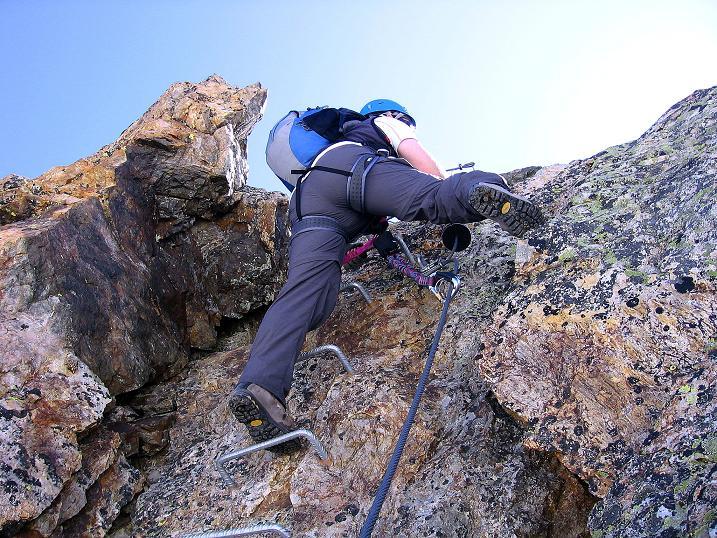 Foto: Andreas Koller / Klettersteig Tour / Klettersteig Piz Trovat (3146m) / 18.07.2009 00:11:04