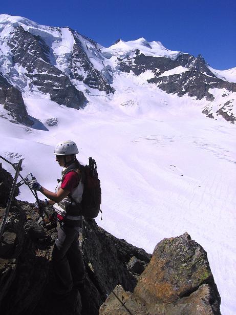 Foto: Andreas Koller / Klettersteig Tour / Klettersteig Piz Trovat (3146m) / 18.07.2009 00:10:47