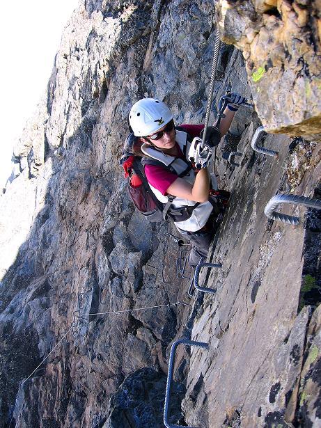 Foto: Andreas Koller / Klettersteig Tour / Klettersteig Piz Trovat (3146m) / 18.07.2009 00:10:09