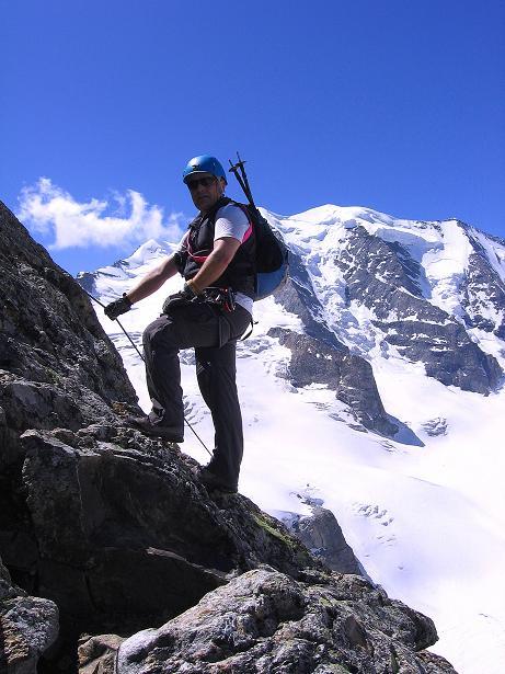 Foto: Andreas Koller / Klettersteig Tour / Klettersteig Piz Trovat (3146m) / 18.07.2009 00:10:00
