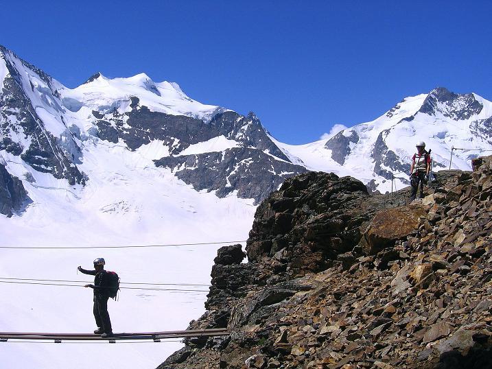 Foto: Andreas Koller / Klettersteig Tour / Klettersteig Piz Trovat (3146m) / 18.07.2009 00:09:31