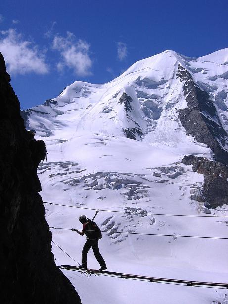 Foto: Andreas Koller / Klettersteig Tour / Klettersteig Piz Trovat (3146m) / 18.07.2009 00:08:42