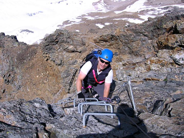 Foto: Andreas Koller / Klettersteig Tour / Klettersteig Piz Trovat (3146m) / 18.07.2009 00:08:11