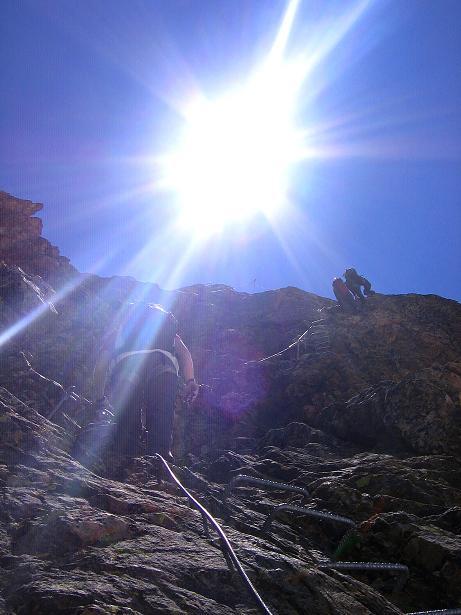 Foto: Andreas Koller / Klettersteig Tour / Klettersteig Piz Trovat (3146m) / 18.07.2009 00:07:55