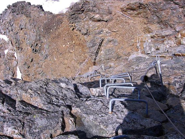 Foto: Andreas Koller / Klettersteig Tour / Klettersteig Piz Trovat (3146m) / 18.07.2009 00:07:46