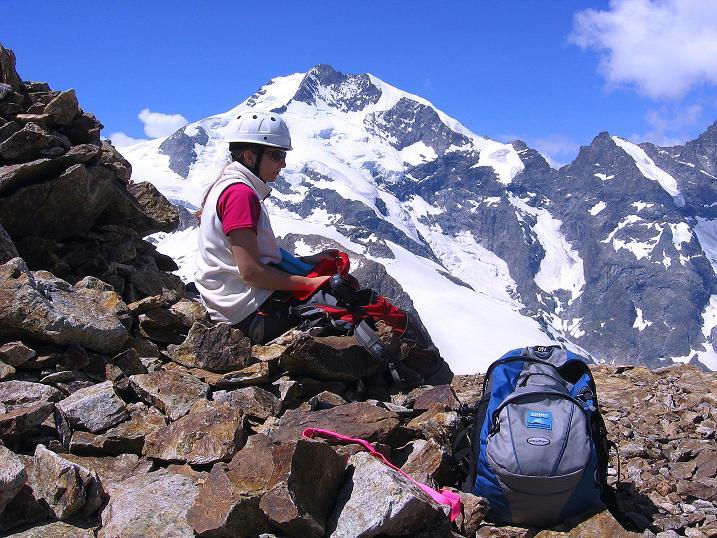 Foto: Andreas Koller / Klettersteig Tour / Klettersteig Piz Trovat (3146m) / Der Biancograt / 18.07.2009 00:06:54
