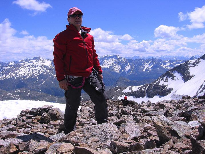 Foto: Andreas Koller / Klettersteig Tour / Klettersteig Piz Trovat (3146m) / 18.07.2009 00:06:37