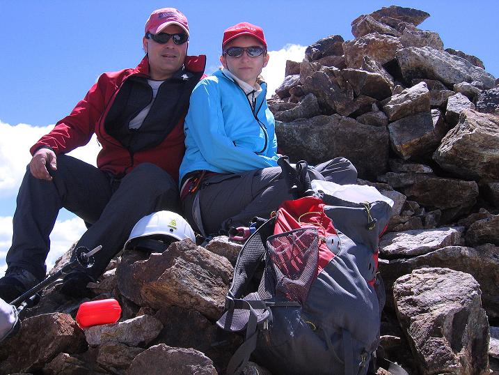 Foto: Andreas Koller / Klettersteig Tour / Klettersteig Piz Trovat (3146m) / 18.07.2009 00:05:51