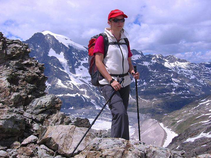 Foto: Andreas Koller / Klettersteig Tour / Klettersteig Piz Trovat (3146m) / 18.07.2009 00:05:12