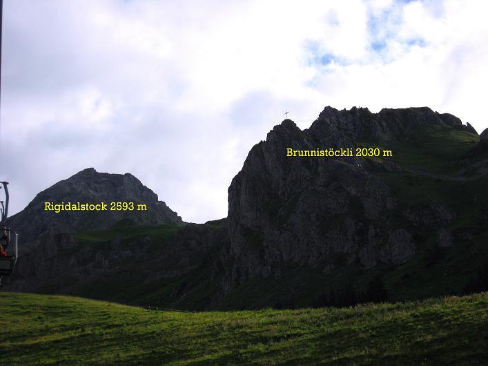 Foto: Andreas Koller / Klettersteig Tour / Klettersteig Brunnistöckli (2030m) / 15.07.2009 02:15:03