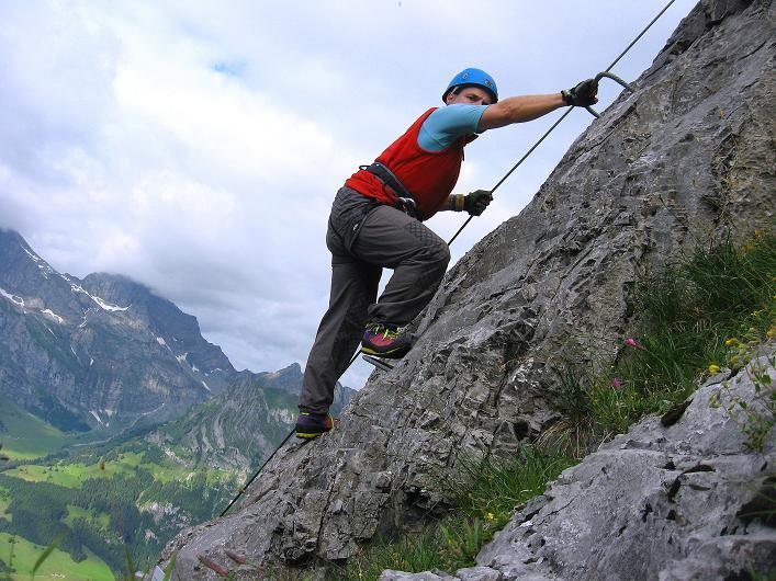 Foto: Andreas Koller / Klettersteig Tour / Klettersteig Brunnistöckli (2030m) / 15.07.2009 02:13:56