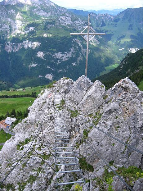 Foto: Andreas Koller / Klettersteig Tour / Klettersteig Brunnistöckli (2030m) / 15.07.2009 02:12:21