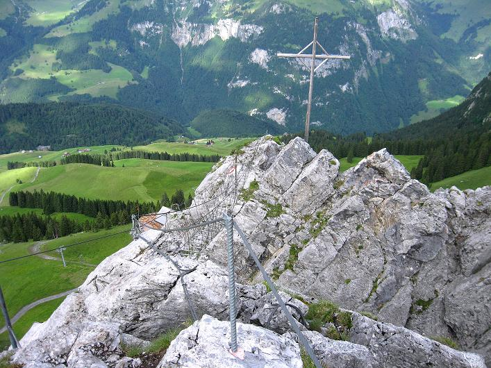 Foto: Andreas Koller / Klettersteig Tour / Klettersteig Brunnistöckli (2030m) / 15.07.2009 02:11:44