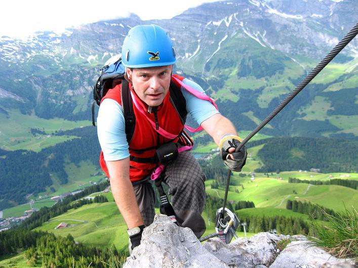 Foto: Andreas Koller / Klettersteig Tour / Klettersteig Brunnistöckli (2030m) / 15.07.2009 02:11:14