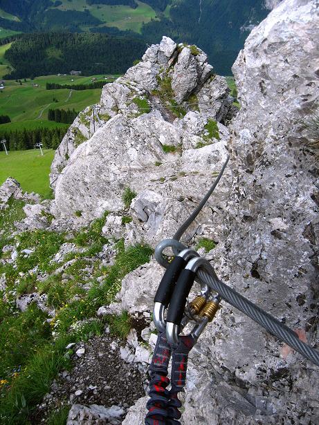 Foto: Andreas Koller / Klettersteig Tour / Klettersteig Brunnistöckli (2030m) / Der Ausstieg / 15.07.2009 02:10:52