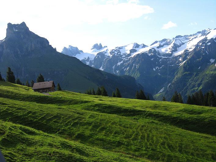 Foto: Andreas Koller / Klettersteig Tour / Klettersteig Rigidalstock (2593 m) / Hahnen (2606 m) und die Spannorte (3198 m) / 15.07.2009 02:08:36