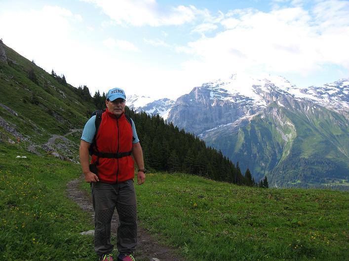Foto: Andreas Koller / Klettersteig Tour / Klettersteig Rigidalstock (2593 m) / 15.07.2009 02:07:35