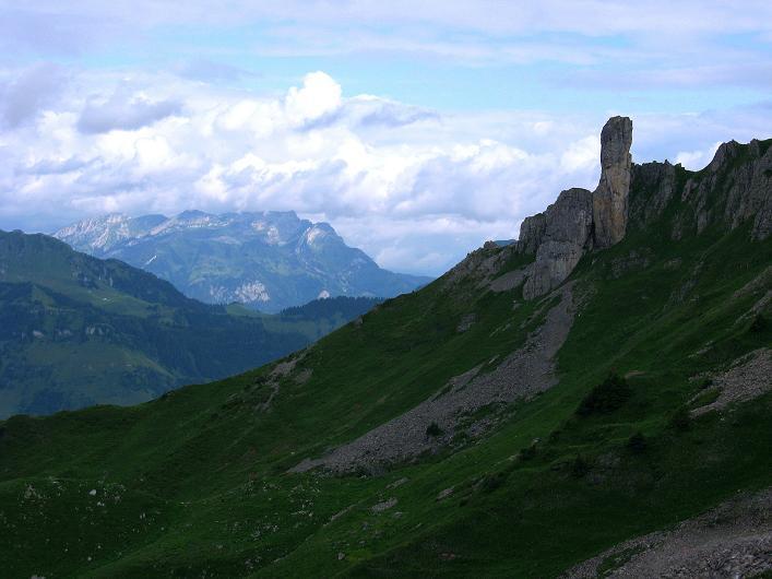 Foto: Andreas Koller / Klettersteig Tour / Klettersteig Rigidalstock (2593 m) / 15.07.2009 02:06:36