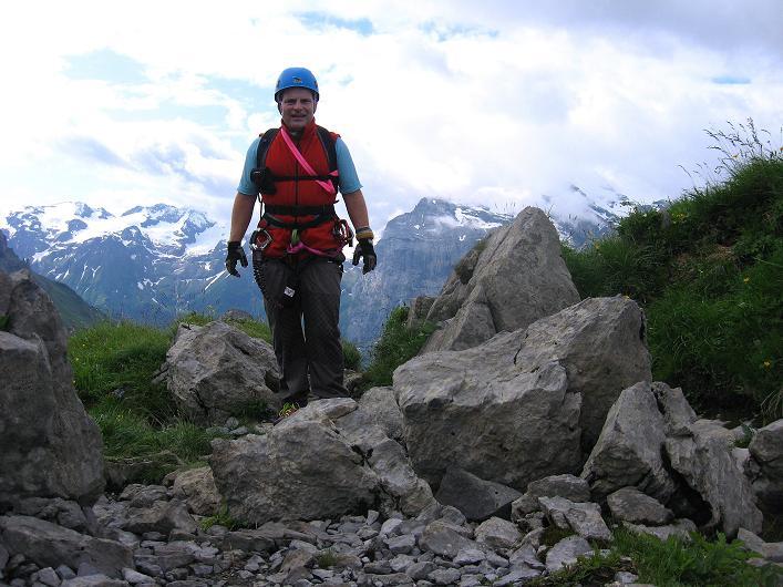 Foto: Andreas Koller / Klettersteig Tour / Klettersteig Rigidalstock (2593 m) / 15.07.2009 02:05:42