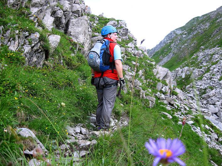 Foto: Andreas Koller / Klettersteig Tour / Klettersteig Rigidalstock (2593 m) / 15.07.2009 02:05:26
