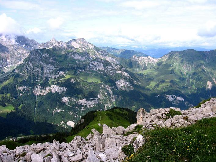 Foto: Andreas Koller / Klettersteig Tour / Klettersteig Rigidalstock (2593 m) / 15.07.2009 02:05:04