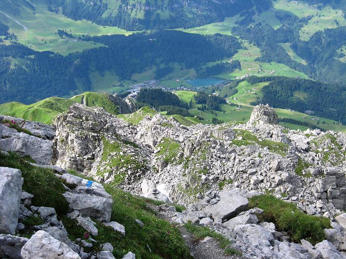 Foto: Andreas Koller / Klettersteig Tour / Klettersteig Rigidalstock (2593 m) / 15.07.2009 02:04:35
