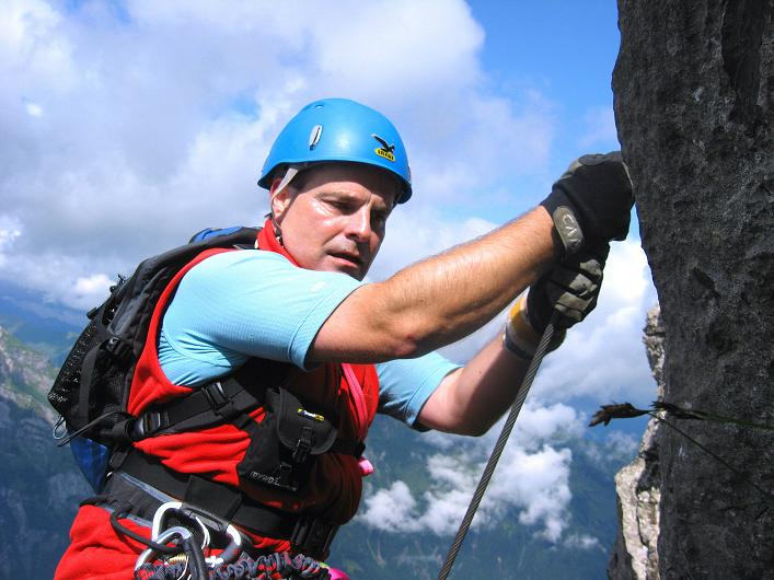 Foto: Andreas Koller / Klettersteig Tour / Klettersteig Rigidalstock (2593 m) / 15.07.2009 02:04:11