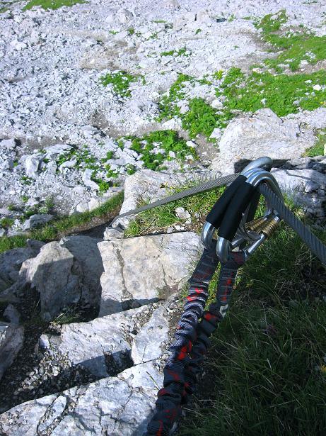 Foto: Andreas Koller / Klettersteig Tour / Klettersteig Rigidalstock (2593 m) / 15.07.2009 02:04:03