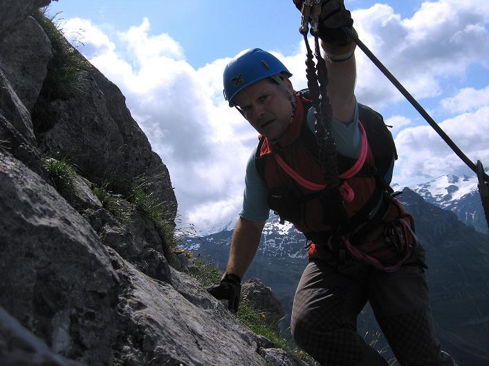 Foto: Andreas Koller / Klettersteig Tour / Klettersteig Rigidalstock (2593 m) / 15.07.2009 02:03:54
