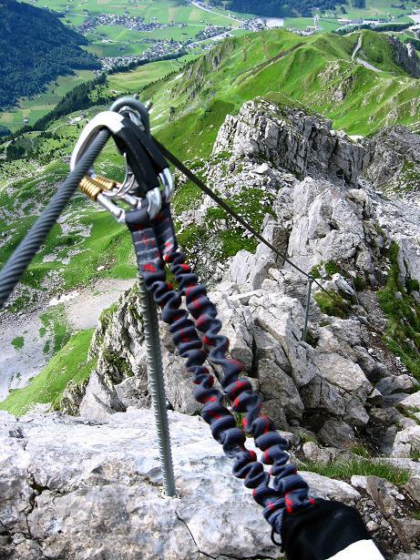 Foto: Andreas Koller / Klettersteig Tour / Klettersteig Rigidalstock (2593 m) / 15.07.2009 02:03:16