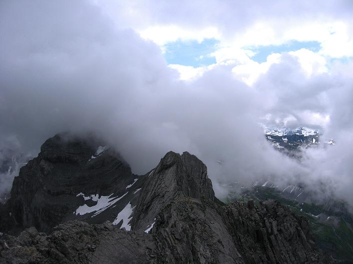 Foto: Andreas Koller / Klettersteig Tour / Klettersteig Rigidalstock (2593 m) / 15.07.2009 02:01:51