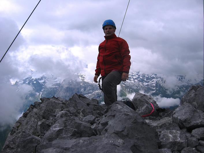 Foto: Andreas Koller / Klettersteig Tour / Klettersteig Rigidalstock (2593 m) / 15.07.2009 02:01:28