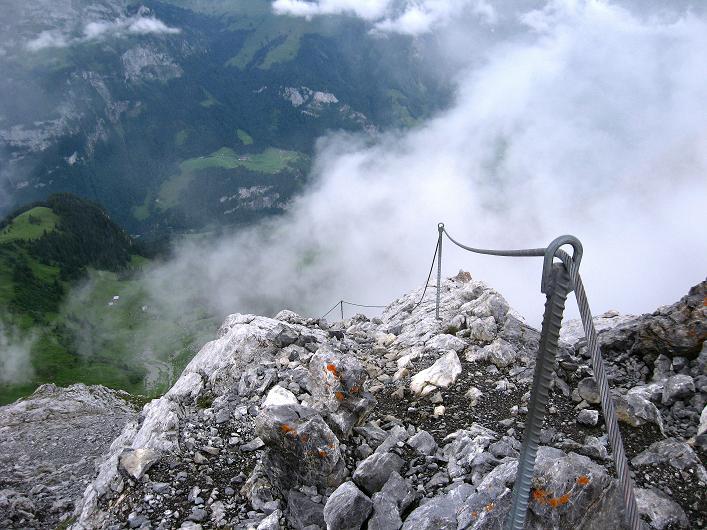 Foto: Andreas Koller / Klettersteig Tour / Klettersteig Rigidalstock (2593 m) / 15.07.2009 02:01:16