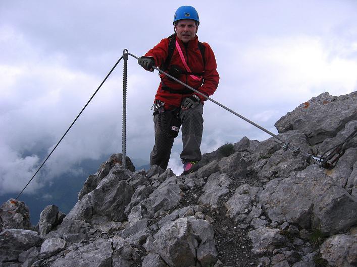 Foto: Andreas Koller / Klettersteig Tour / Klettersteig Rigidalstock (2593 m) / 15.07.2009 02:01:02