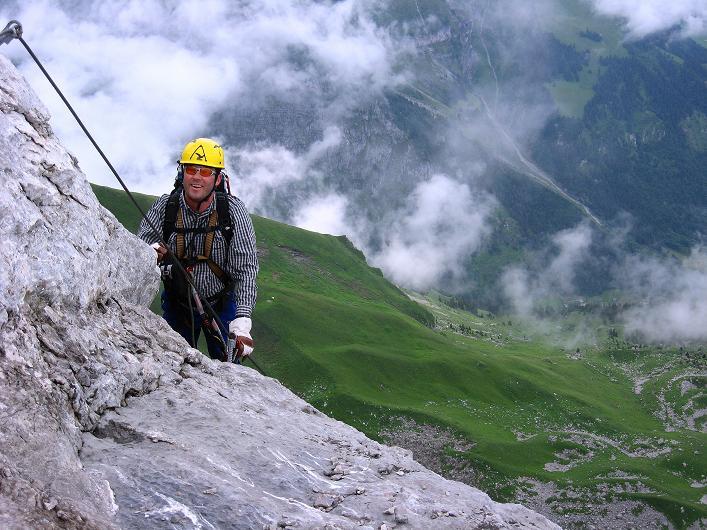 Foto: Andreas Koller / Klettersteig Tour / Klettersteig Rigidalstock (2593 m) / 15.07.2009 02:00:31