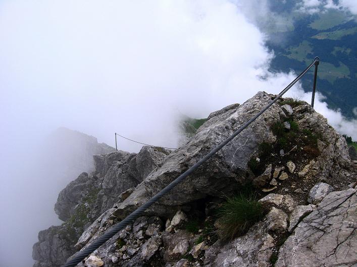 Foto: Andreas Koller / Klettersteig Tour / Klettersteig Rigidalstock (2593 m) / 15.07.2009 02:00:23