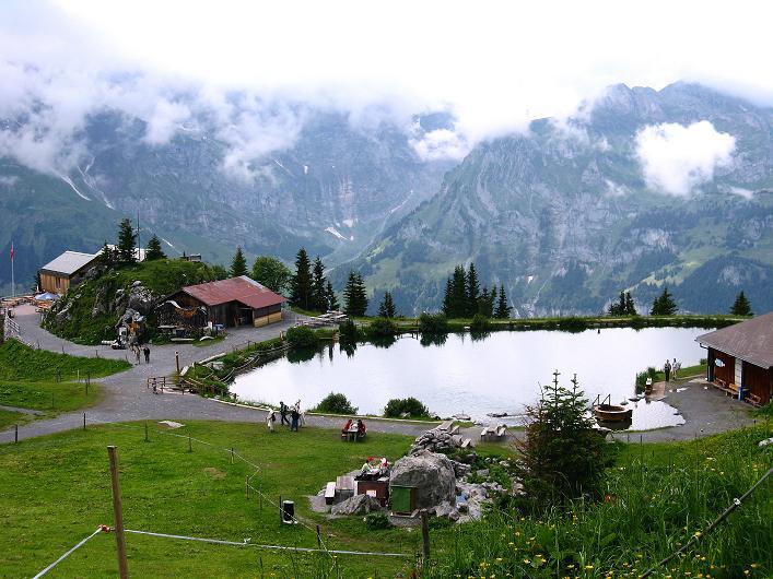 Foto: Andreas Koller / Klettersteig Tour / Klettersteig Rigidalstock (2593 m) / Zurück bei der Brunnihütte / 15.07.2009 01:59:59