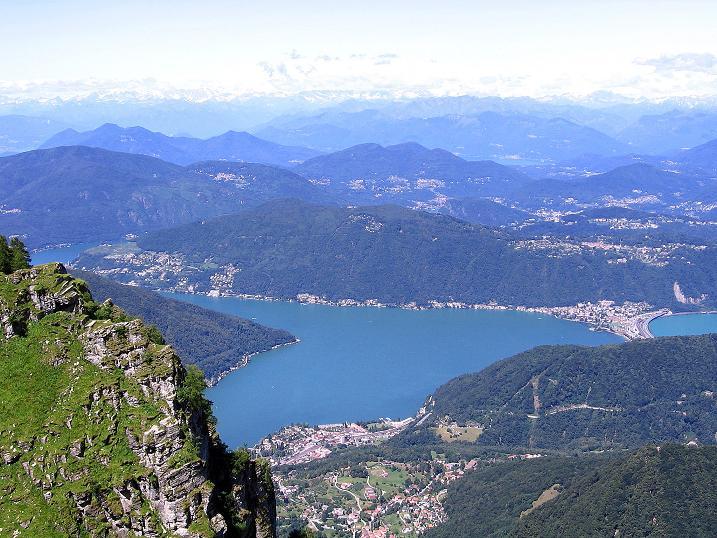 Foto: Andreas Koller / Klettersteig Tour / Via ferrata Angelino (1701 m) / Luganer See / 16.07.2009 23:29:22