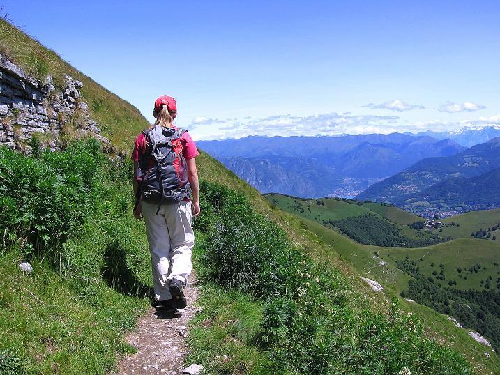 Foto: Andreas Koller / Klettersteig Tour / Via ferrata Angelino (1701 m) / 16.07.2009 23:27:32