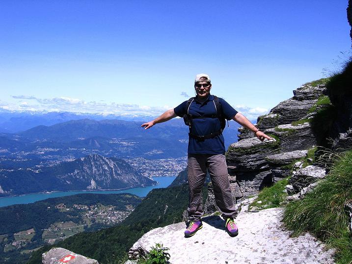 Foto: Andreas Koller / Klettersteig Tour / Via ferrata Angelino (1701 m) / 16.07.2009 23:25:47