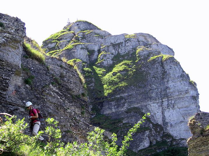 Foto: Andreas Koller / Klettersteig Tour / Via ferrata Angelino (1701 m) / 16.07.2009 23:25:31