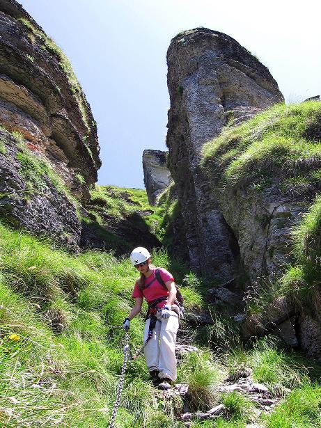 Foto: Andreas Koller / Klettersteig Tour / Via ferrata Angelino (1701 m) / 16.07.2009 23:25:06