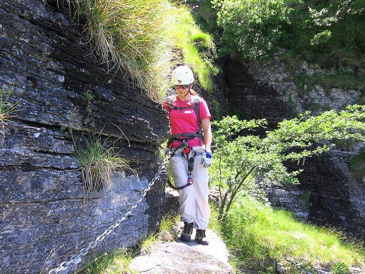 Foto: Andreas Koller / Klettersteig Tour / Via ferrata Angelino (1701 m) / 16.07.2009 23:24:57