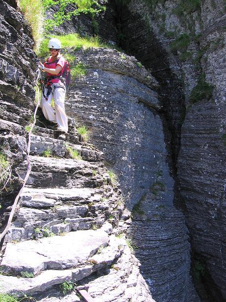 Foto: Andreas Koller / Klettersteig Tour / Via ferrata Angelino (1701 m) / 16.07.2009 23:24:40