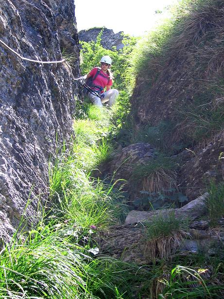 Foto: Andreas Koller / Klettersteig Tour / Via ferrata Angelino (1701 m) / 16.07.2009 23:24:31