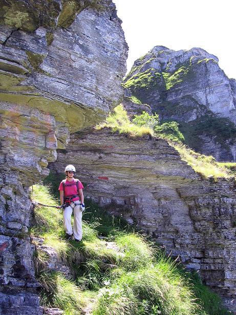 Foto: Andreas Koller / Klettersteig Tour / Via ferrata Angelino (1701 m) / STOPP! Hier geht's nicht weiter! / 16.07.2009 23:24:24