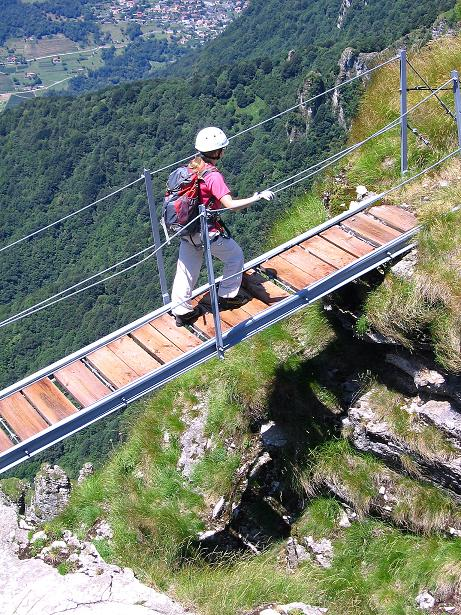 Foto: Andreas Koller / Klettersteig Tour / Via ferrata Angelino (1701 m) / 16.07.2009 23:22:39