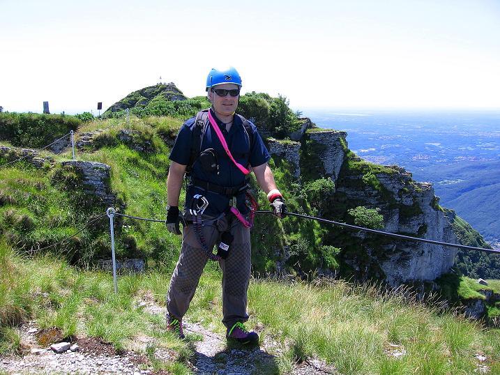 Foto: Andreas Koller / Klettersteig Tour / Via ferrata Angelino (1701 m) / 16.07.2009 23:22:16