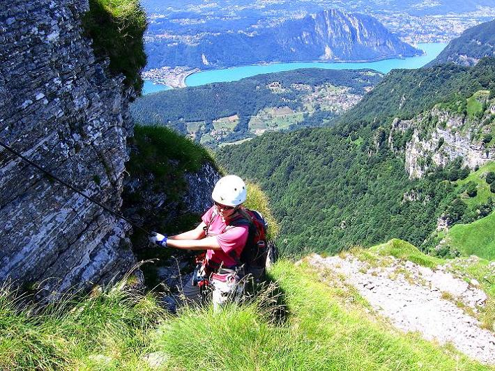 Foto: Andreas Koller / Klettersteig Tour / Via ferrata Angelino (1701 m) / 16.07.2009 23:22:05